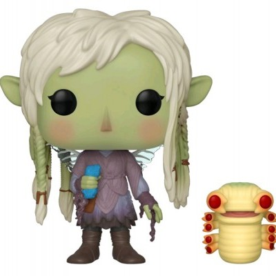 Funko POP! The Dark Crystal Age of Resistance Deet with Baby Nurlock #859 Glow In The Dark Special Edition