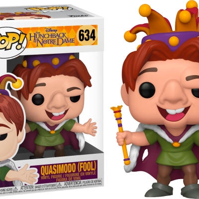 Funko! Pop Disney The Hunchback Of Notre Dame Quasimodo (Fool) #634