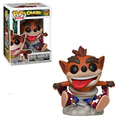 Funko! Pop Crash Bandicoot Crash Bandicoot Spinning
