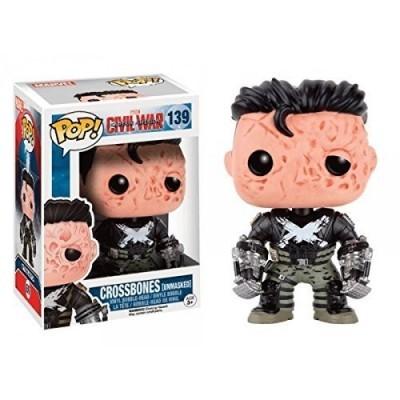 Funko! Pop Captain America Civil War Crossbones Unmasked Exclusive