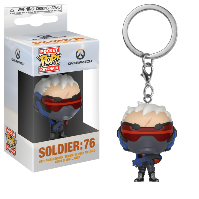 Funko Pocket POP! Keychain Overwatch Soldier: 76