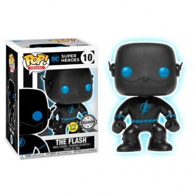 Funko POP! DC Super Heroes Flash Silhouette #10 GITD Exclusive