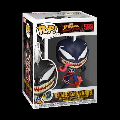 Funko! Pop Marvel Spider-Man Maximum Venom Venomized Captain Marvel #599