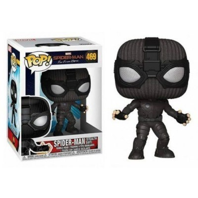 Funko! Pop Spiderman Far From Home Spiderman Stealth Suit