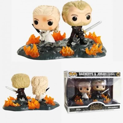 Funko! Pop Game of Thrones Daenerys & Jorah with Swords