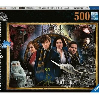 Puzzle Fantastic Beasts The Crimes of Grindelwald 500 Peças Ravensburger