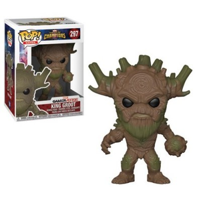 Funko! Pop Marvel GamerVerse Contest Of Champions King Groot #297