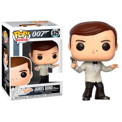 Funko! Pop 007 James Bond From Octopussy #525 Exclusive