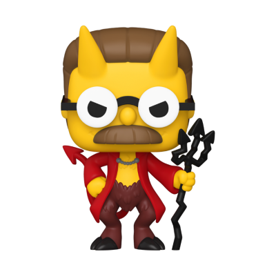 Funko POP! The Simpsons Treehouse Of Horror Devil Flanders #1029