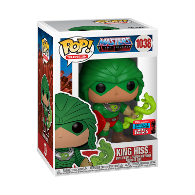 Funko POP! Television Masters Of The Universe King Hiss #1038 NYCC2020 Exclusive