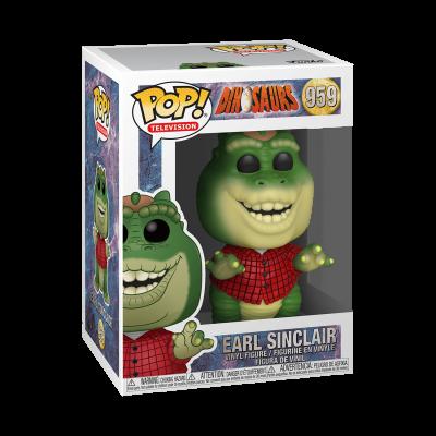 Funko! Pop Television Dinosaurs Earl Sinclair #959