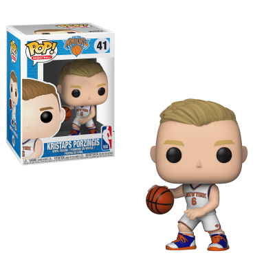 Funko! Pop Basketball New York Knicks Kristaps Porzingis #41