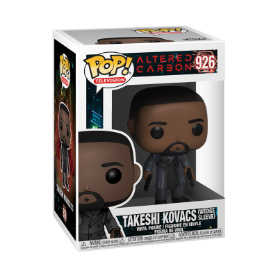 Funko! Pop Television Altered Carbon Takeshi Kovacs (Wedge Sleeve) #926