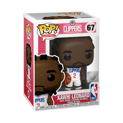 Funko! Pop Basketball Clippers Kawhi Leonard #67