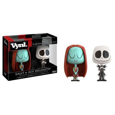 Funko! Vynl The Nightmare Before Christmas Sally + Jack Skellington