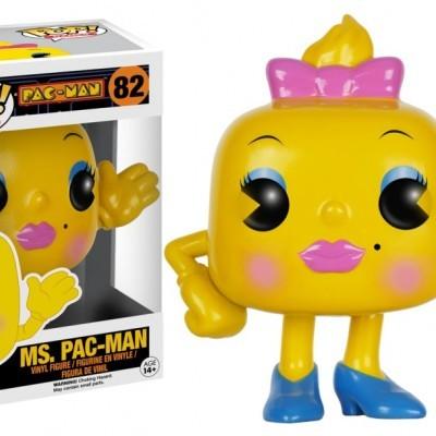 Funko! Pop Games Pac-Man Ms. Pac-Man #82