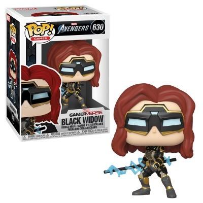 Funko! Pop Games Marvel Avengers GamerVerse Black Widow #630