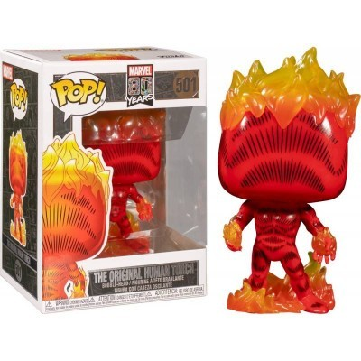 Funko! Pop Marvel 80 Years First Appearance The Original Human Torch