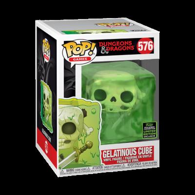 Funko POP! Games Dungeons & Dragons Gelatinous Cube #576 ECCC2020 Exclusive