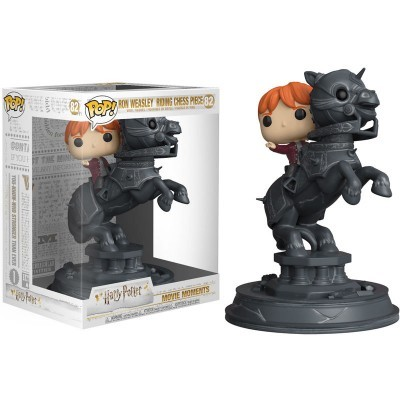 Funko! Pop Harry Potter Ron Riding Chess Piece