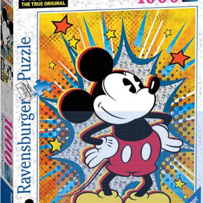 Puzzle Disney Retro Mickey 1000 Peças Ravensburger