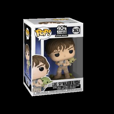 Funko! Pop Star Wars 40 The Empire Strikes Back Luke Skywalker & Yoda #363