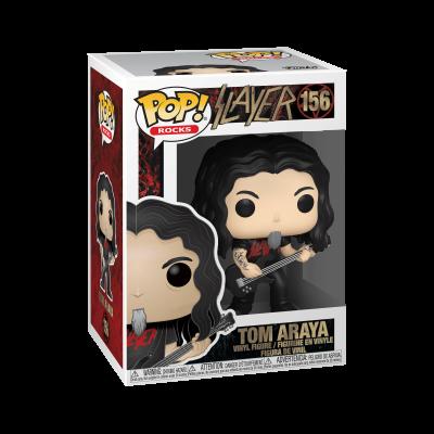 Funko! Pop Rocks Slayer Tom Araya #156
