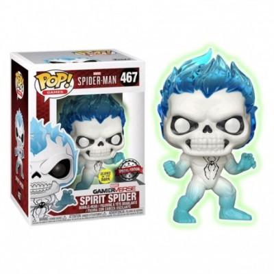 Funko! Pop Marvel Spider Man GamerVerse Spirit Spider Special Edition Glow in the Dark