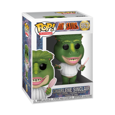 Funko! Pop Television Dinosaurs Charlene Sinclair #963