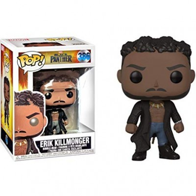 Funko! Pop Marvel Black Panther Killmonger with Scars