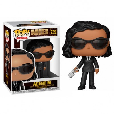 Funko! Pop Men in Black Internacional Agent M