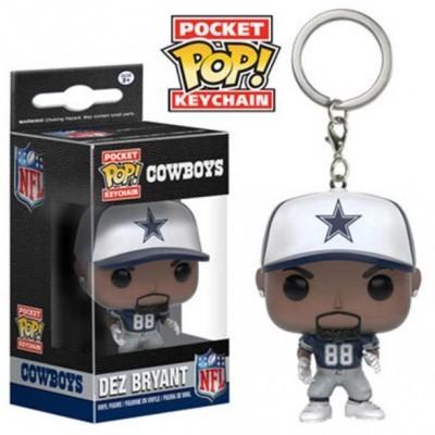 Funko Pocket POP! Keychain NFL Cowboys Dez Bryant