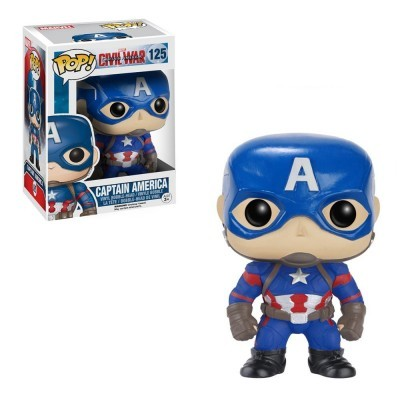 Funko! Pop Captain America Civil War Captain America