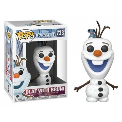 Funko POP! Disney Frozen II Olaf With Bruni #733