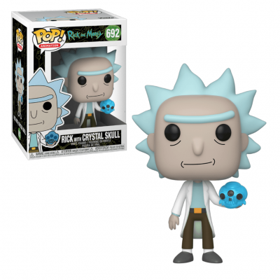 Funko POP! Rick & Morty Rick With Crystal Skull #692