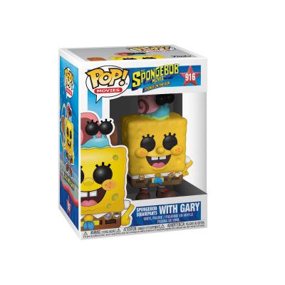 Funko POP! Sponge On The Run Spongebob Square Pants With Gary #916