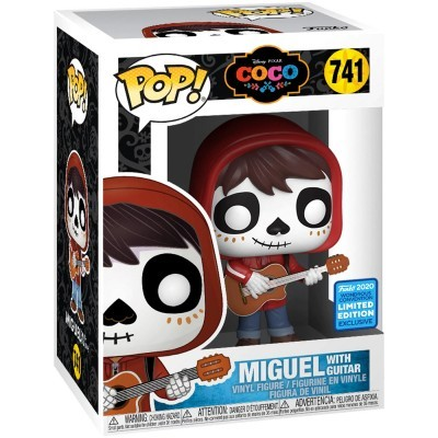 Funko POP! Disney Coco Miguel With Guitar #741 Exclusive Limited Edition
