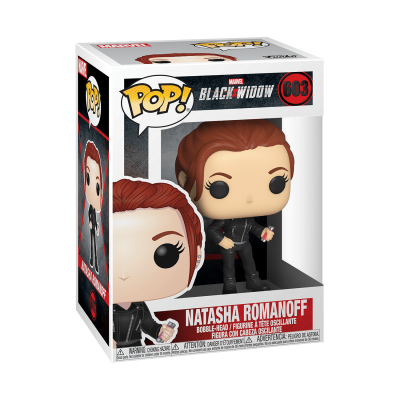 Funko! Pop Marvel Black Widow Natasha Romanoff #603