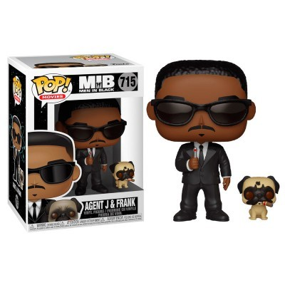 Funko! Pop Men in Black Agent J & Frank