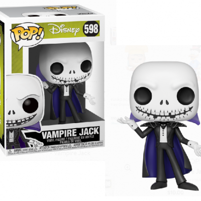 Funko! Pop Disney Nightmare Before Christmas Vampire Jack