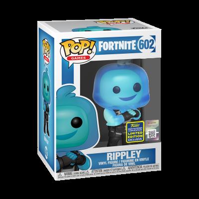 Funko POP! Games Fortnite Rippley #602 SDCC2020 Exclusive