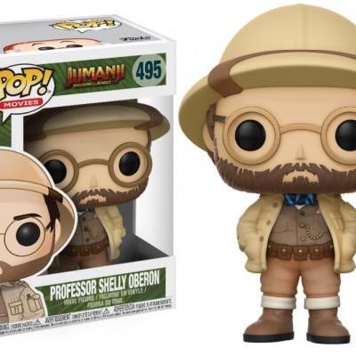 Funko! Pop Jumanji Welcome To The Jungle Professor Shelly Oberon #495