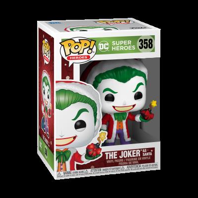 Funko POP! Holiday DC Super Heroes The Joker As Santa #358