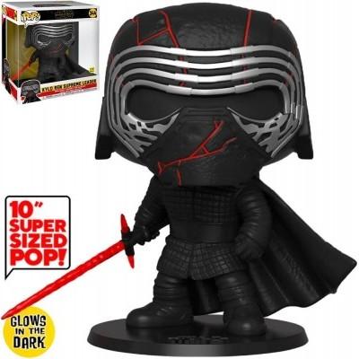 "Funko! Pop Star Wars Kylo Ren Supreme Leader 10"" Supersized #344 GITD (Caixa Ligeiramente Danificada)"