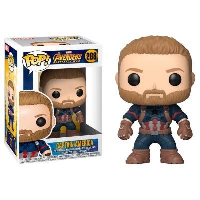 Funko! Pop Avengers Infinity War Captain America
