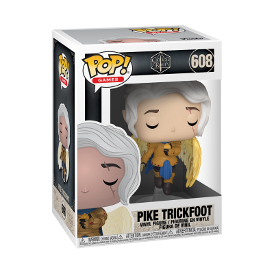 Funko POP! Games Critical Role Pike Trickfoot #608