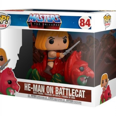 Funko POP! Rides Masters Of The Universe He-Man On Battlecat #84