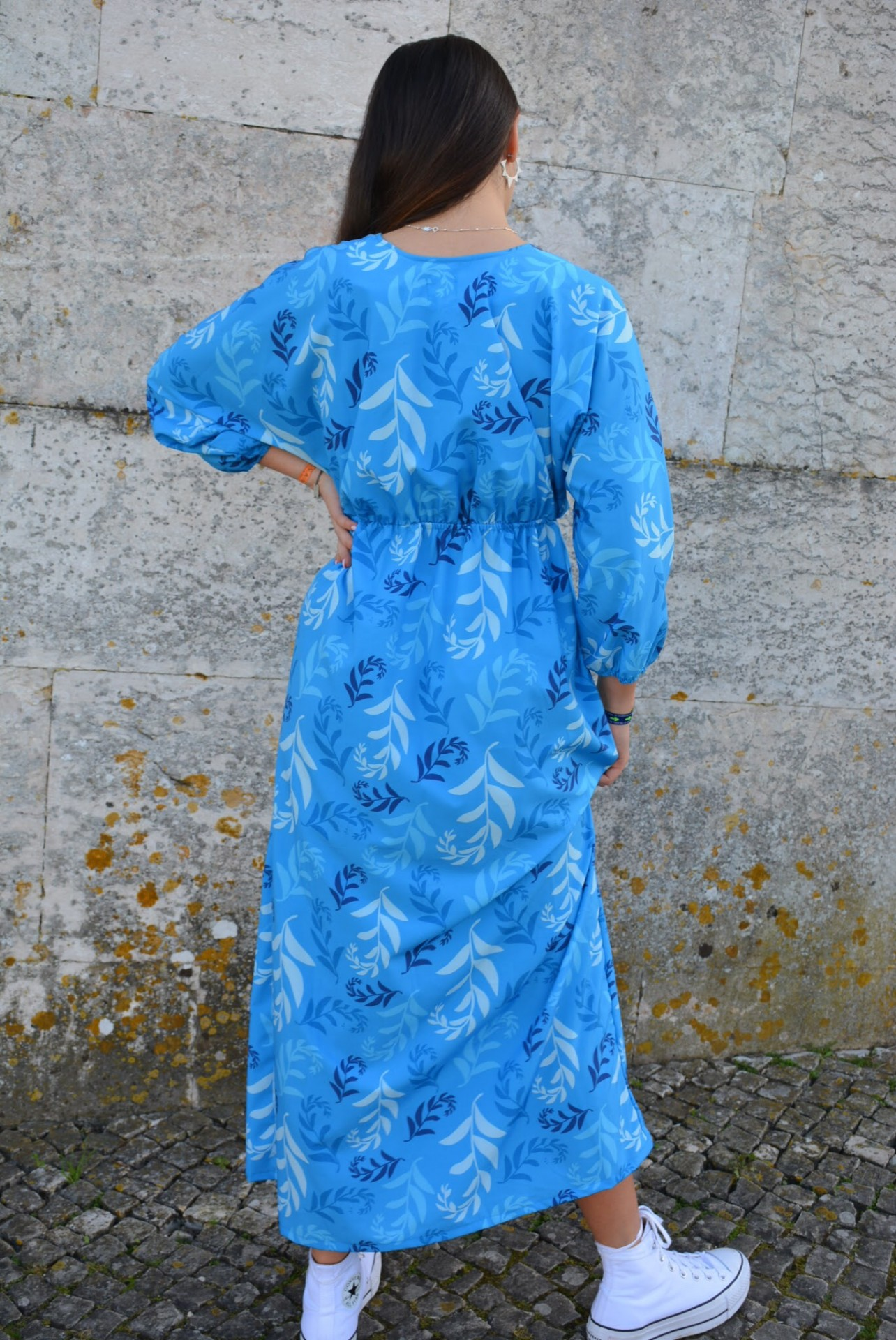 Vestido/Dress  BORACAY azul/blue