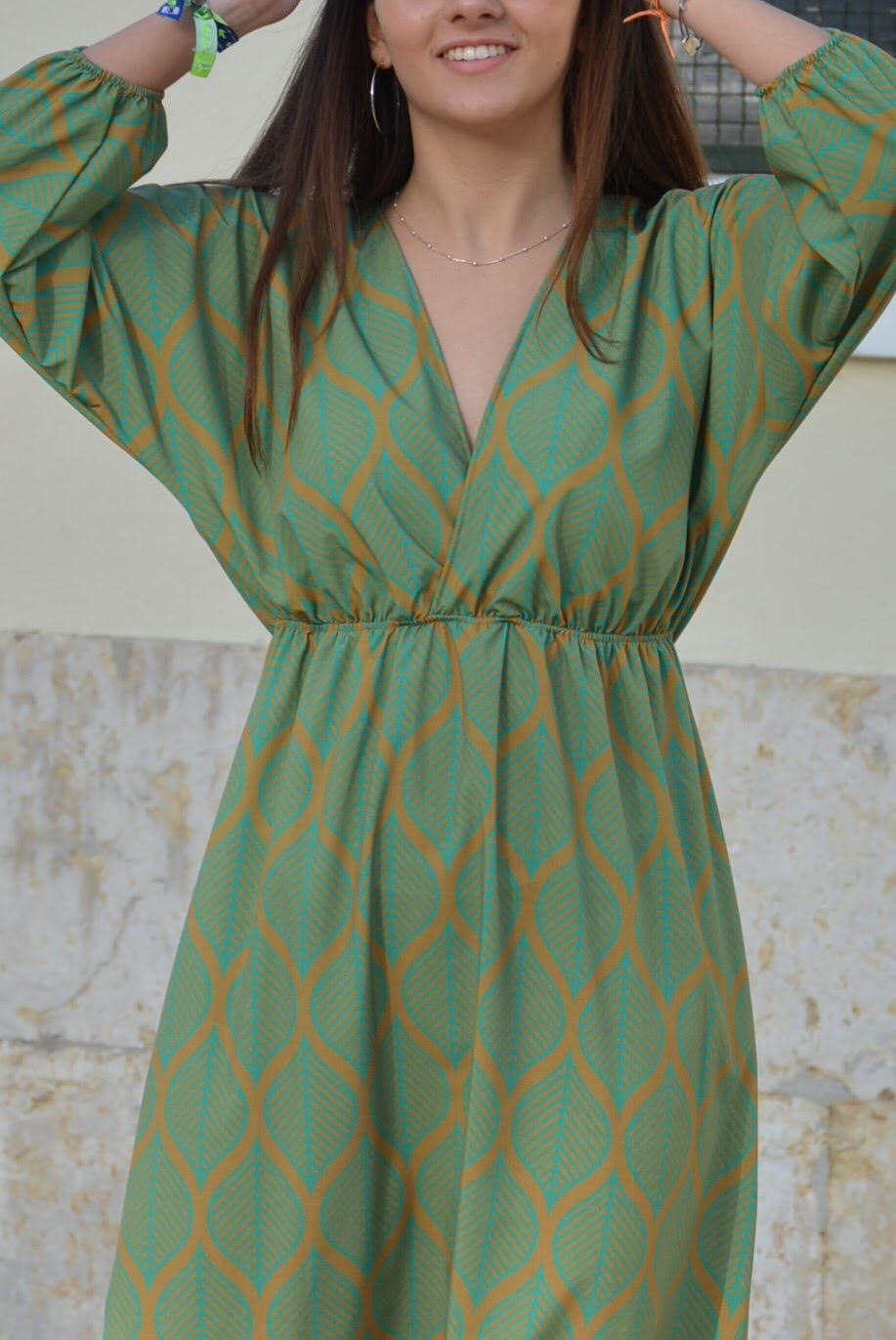 Vestido/dress MACHU PICCHU amarelo/yellow