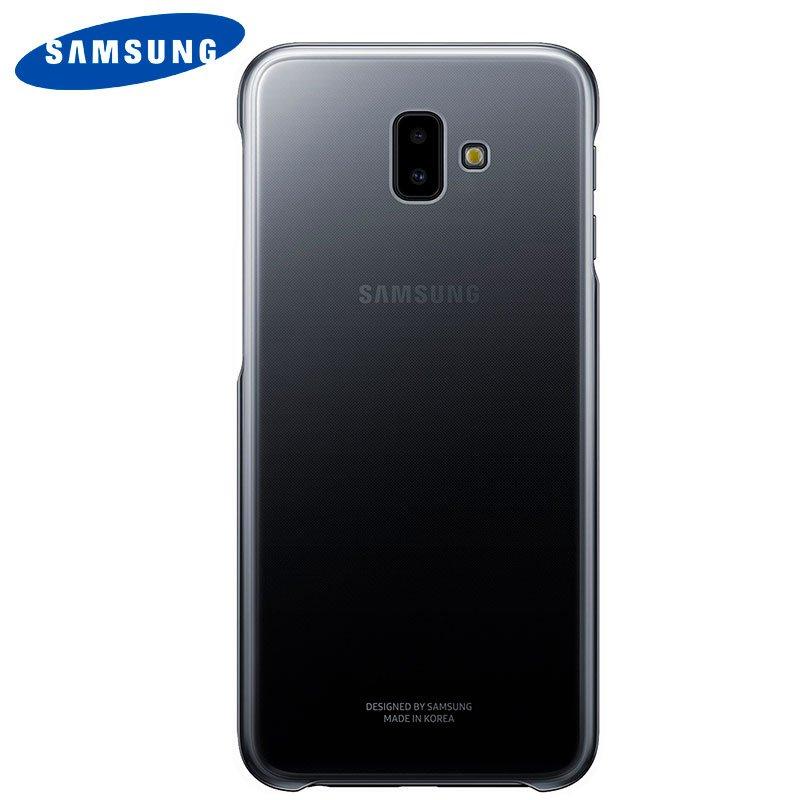 Capa Original Samsung Galaxy J6+ Gradation - Preto